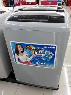 Sanken Mesin Cuci 2 Tabung 10kg Bisa diKredit Promo Dp 199rb Saja