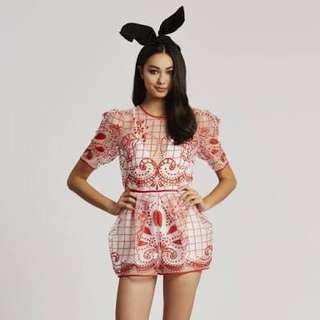BNWT (RRP $360) Alice McCall Playsuit