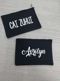 Personalized Name Pencil Case
