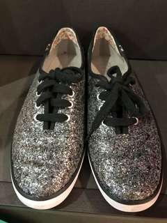 Keds Glitter Black Sneakers
