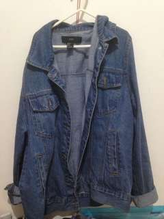Jaket denim FOREVER 21
