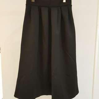 🚚 太空棉黑色長裙
