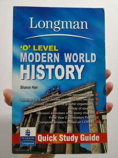 Longman 'O' Level Modern World History