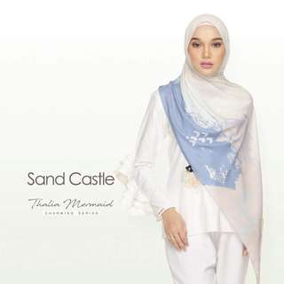 Sofea Rose Long Shawl (Sand Castle only)