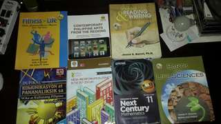 Grade 11 Books (Some Are Not Yet Written)
