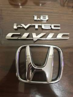 Honda Civic 1.8 original logos