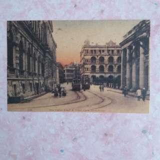 電車述: 舊香港電車明信片