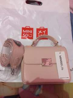 New miniso crossbody sling bag