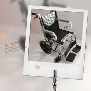 Brand new aluminium wheelchair
