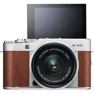 Kredit Fujifilm X-A5 Mirrorless Digital Camera with 15-45mm tanpa cc