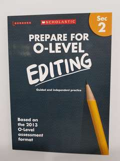 Learners Scholastic O Level Editing for Sec 2