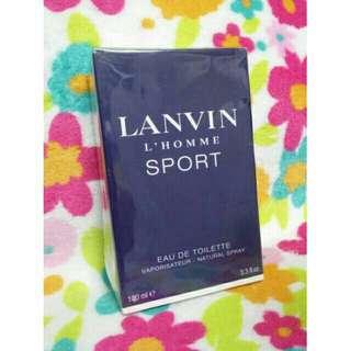 Authentic Lanvin L'Homme Sport EDT Perfume