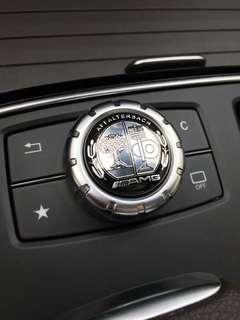 🚚 賓士 Benz AMG A級B級C級E級 GLA CLA CLS旋鈕貼 多媒體 裝飾貼 中控 W204 W212 蘋果樹