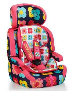 Cosatto car seat zoomi 123 poppidellic design
