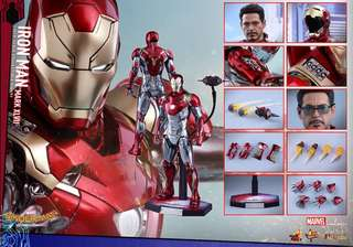 徵HOTTOYS IRON MAN MK47 MARK XLVII