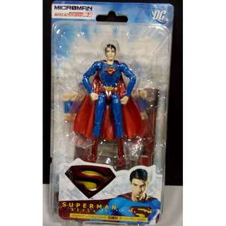 全新未開  Takara Microman 微星小超人 MA-33 超人 Superman Returns - Movie Version 電影版