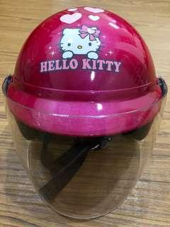 Kitty正版合格女童安全帽⛑️