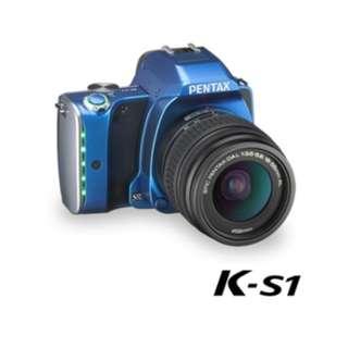 福利品 PENTAX K-S1+DAL 18-55mm 單鏡組 Y1