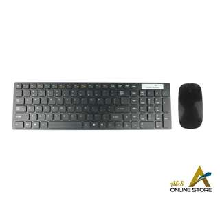 Multimedia 2.4G Wireless Keyboard & Mouse Combo Set