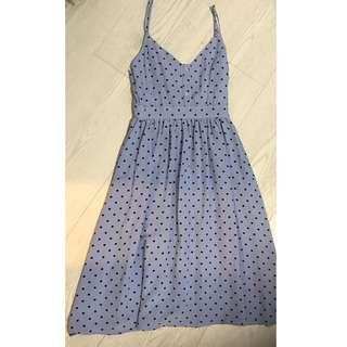 Maxi Pokka Dots Dress