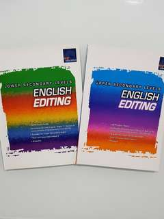 SAP Educational English Editing for Lower & Upper Sec