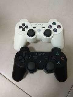PS3 原裝手制兩個(一黑一白)