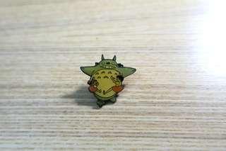 90年代中古龍貓徽章pin