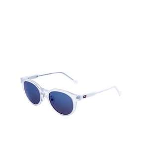 Kids Tommy Hilfiger TH 1430/F/S Sunglasses in Crystal/Blue