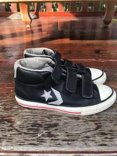 Converse leather shoes for kid