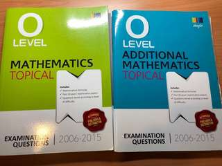 O Level Ten Year Series Emaths and Amaths