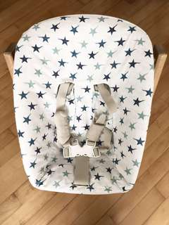 Stokke Chair Tripp Trapp Newborn Set with 1 more cover