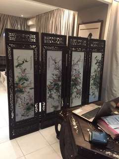 Chinese Antique Window Panel