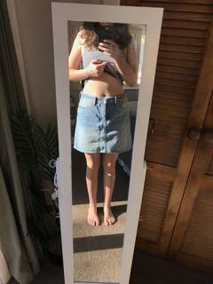 Levi denim skirt