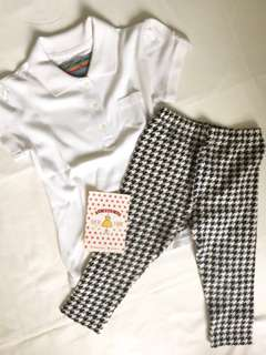 1 SET POLO & UNIQLO GIRL LEGGINGS