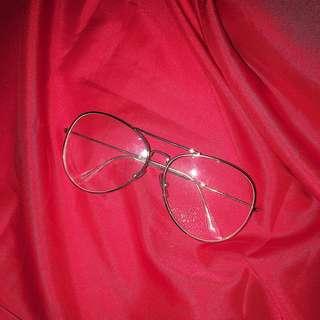 Oversized grandpa glasses