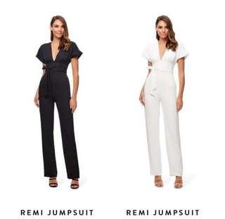 BNWT Remi Black Jumpsuit