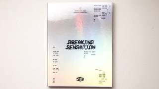 SF9 Breaking Sensation Album