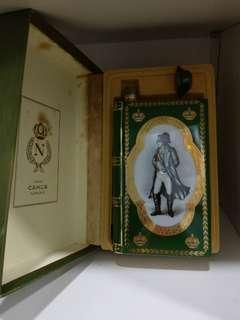 金花 拿破崙像綠瓷書干邑 有外盒 罕有