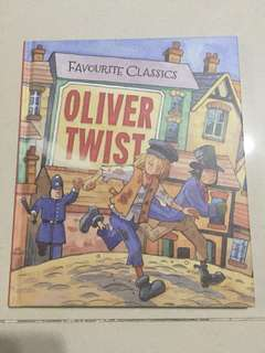 "Classic ""Oliver Twist"" Hardcover Book For Children"