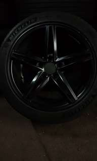 "17"" sport rims and tyres"