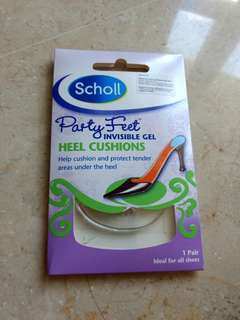 BNIP Scholl Party Feet Invisible Gel