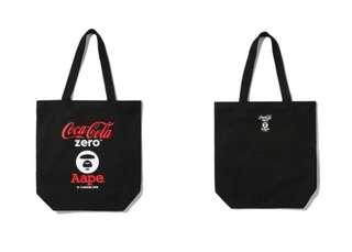 Coca Cola Zero X AAPE 帆布手提袋