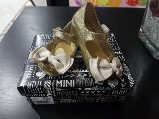Mini Melissa Ultra Sweet BB 51800 Gold Glitter
