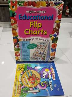 A3 educational Flip chart & time table activity book