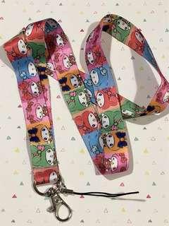 Sanrio My Melody x sailormoon lanyard neck strap
