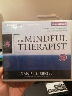 Audio book - the mindful therapist