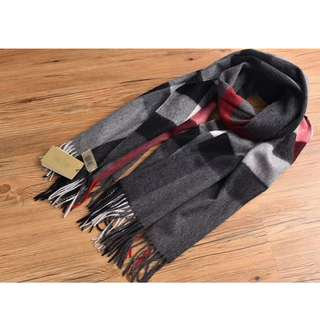 Burberry Cashmere wool Black  Scarf
