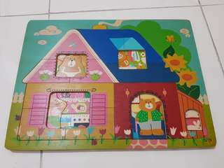 2 layer Wooden Puzzle