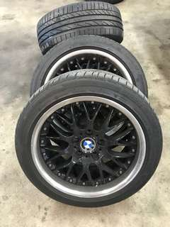 BBS RS with RFT POTENZA 17""