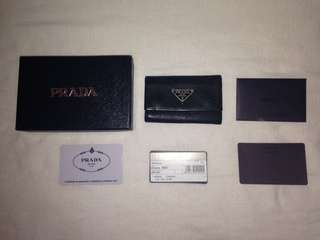 Prada key holder (authentic)